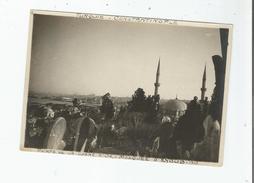 TURQUIE CONSTANTINOPLE  PHOTO  POINTE DE LA CORNE D'OR . MOSQUEE D'EYOUB 1919 - Places
