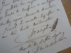 HENRI De LAPLANE (1806-1873) Archéologue SAINT OMER. Député SISTERON. Autographe - Autografi