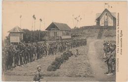 ONONGHE (PAPOUASIE NOUVELLE GUINEE) - FETE A L'OCCASION DE LA BENEDICTION D'UNE NOUVELLE EGLISE - Papoea-Nieuw-Guinea