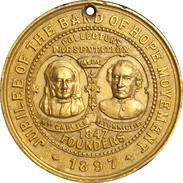 INGLATERRA. MEDALLA DEL JUBILEO 60 ANIVERSARIO REINA VICTORIA. 1.897. GREAT BRITAIN MEDAL - Monarquía/ Nobleza