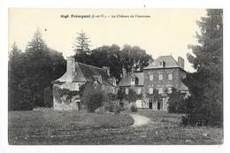 PAIMPONT  (cpa 35)   Le Château De Fourneau -   - L 1 - Paimpont