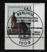 BERLIN - Mi-Nr. 855 Mit Formnummer 2 - 450. Jahrestag Reformation Kurfürstentum Brandenburg Gestempelt - [5] Berlin
