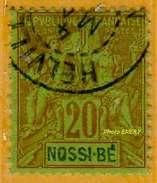 Nossi-Bé 1894 P 33 Oblitéré          La Photo Est Celle Du Produit Fourni.