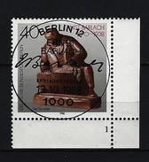 BERLIN - Mi-Nr. 823 Mit Formnummer 1 - 50. Todestag Von Ernst Barlach Gestempelt - [5] Berlin