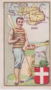 Image / Chromo  6.x10.5  Carte Géo SAVOIE ( 73) - Géographie