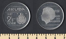 Aruba 2 1/2 Florin 1987 - Monnaies