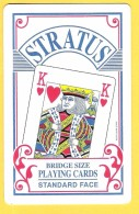 Stratus Bridge Playing Cards Standard Face Roi De Coeur - Kartenspiele (traditionell)