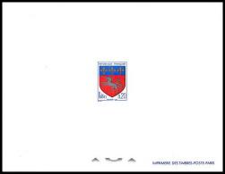 France - N° 1510 épreuve De Luxe (deluxe Proof) Armoiries De Ville. Blason De St-Lô Blason - Luxusentwürfe