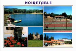 Noiretable - Lac Terrin De Tennis Château Fontaine - Noiretable