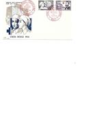 ALGERIE - F.D.C. CROIX ROUGE  ORAN 30/10/1954 - FDC