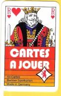Cartes à Jouer Avec Roi De Coeur Berliner Spielkarten  - Verso CSC Metal Syndicat, Roue Dentée - Cartes à Jouer Classiques