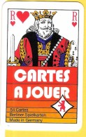 Cartes à Jouer Avec Roi De Coeur Berliner Spielkarten  - Verso CSC Metal Syndicat, Roue Dentée - Speelkaarten