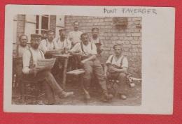 Pont Faverger  --  Carte Photo Soldats Allemands Identifiée Comme Prise à Pont Faverger - Other Municipalities