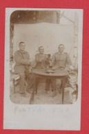 Pont Faverger  --  Carte Photo Soldats Allemands Identifiée Comme Prise à Pont Faverger - Francia