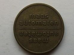 Jeton Maas Automaten (messing Met Embleem) - Monétaires/De Nécessité