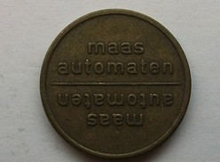 Jeton Maas Automaten (messing Met Embleem) - Monetary/Of Necessity