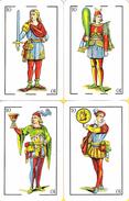 Scopa : 12 Cartes N° 10 - 11 Et 12 - Cartes à Jouer Classiques