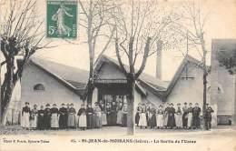 38 - ISERE / Saint Jean De Moirans - La Sortie De L' Usine - Belle Animation - France