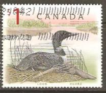 Canada 1997 SG 1756 $1 Loon Fine Used - 1952-.... Reign Of Elizabeth II