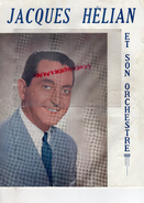 MUSIQUE- PROGRAMME JACQUES HELION ET SON ORCHESTRE- SYDNEY BECHET- CHARLES TRENET-SUZANNE DAY-RITA CASTEL-SELMER - Programmi