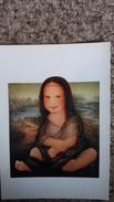 CPM FERNANDO DA CUNHA BABY MONA LISA BEBE JOCONDE - Paintings