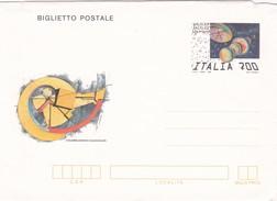 Italie : Aerogram ( Biglietto Postale )   / Galileo Galilei 1992 - 350 Jaar - 1946-.. République