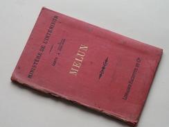 MELUN 1/100.000 ( Librairie HACHETTE Et Cie Paris ) Tirage De 1899 ( Voir Photo Pour Détail ) ! - Europe