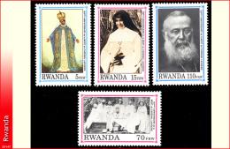 Rwanda 1388/91** Lavigerie  MNH - Rwanda