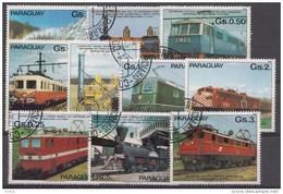 Paraguay  Oblitérés / Used / Gestempeld - Treinen