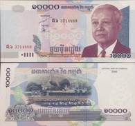 Cambodia Cambodge Kampuchea 10000 Riels UNC Banknotes 2006 - Pick#56 - Cambodia