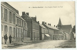 Mailly-Maillet   (80. Somme)  La Rue Eugène Dupré - Otros Municipios