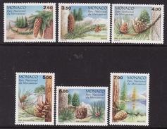 Monaco #1769-74 F-VF Mint NH ** Conifers - Trees
