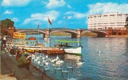 Angleterre        373        Nottingham.River Trent And Bridge - Nottingham