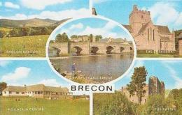 Angleterre  ?      380       Brecon ( 5 Views ) ( Pays De Galles ? ) - Breconshire