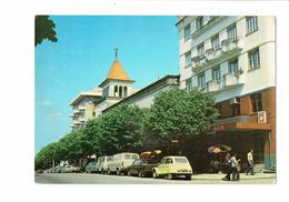 Cpm -  Portugal - FUNDAO - Avenue Liberdade - 1984 - Voiture Diane Citroen / Restaurant HERMINIA / Camion - Portugal
