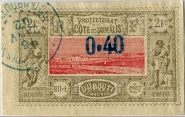 !!! COTE DES SOMALIS N°25 OBLITERE. TTB - Côte Française Des Somalis (1894-1967)