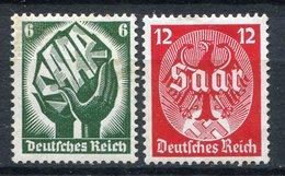 Alemania 1934. Yvert 509-10 ** MNH. - Ungebraucht