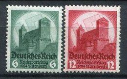 Alemania 1934. Yvert 511-12 ** MNH. - Ungebraucht