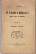 En Wallonie Liégeoise   1923 - Belgien