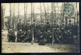 Cpa Militaria Groupe De Militaire Du 103ème  JIP96 - Regiments