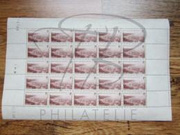 VEND BEAUX TIMBRES DE MONACO N°256 , EN FEUILLE ENTIERE , XX !!!! - Unused Stamps