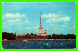 LENINGRAD, RUSSIE - VIEW OF THE PETER & PAUL FORTRESS - AURIRA ART BUBLISHERS - - Russie