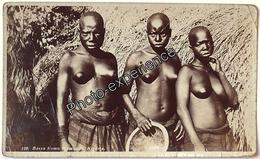CPA Carte Photo Ethnique Femme Noir Nu Black Scarification Nude Women Ethnic 1920 NIGERIA Afrique Africa - Nigeria