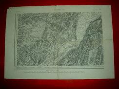 Carte Etat-major  Type 1889  Grenoble S.O.   N°178  L'Albenc - Mapas Topográficas