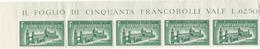 Repubblica Sociale Italiana, 1944 - 1,25 Lire Espresso, Striscia Di 5 - Nr.E23 MNH** - 4. 1944-45 Repubblica Sociale