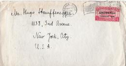 HABANA / Cuba → Letter Of Servicio Aereo LINDBERG FEBRERO 1928 - Premiers Jours (FDC)