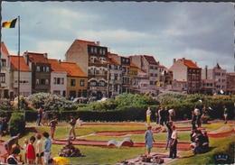 Grote Kaart Bredene Aan Zee Golf Miniature Klein Golfspel Minigolf 1984 - Bredene
