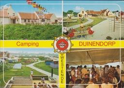 Grote Kaart Westende Camping Duinendorp RACB KACB 1985 - Westende