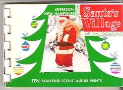Souvenir Scenic Album  Santa's Village, Jefferson, New Hampshire - North America