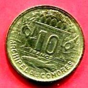 COMORES ESSAI  10 FRANC 1964  (G 36 ) TTB+  18 - Comoros